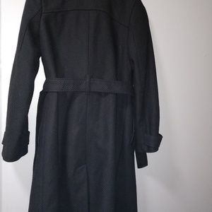 Old Navy Jackets & Coats - Old Navy size S wool blend black peacoat